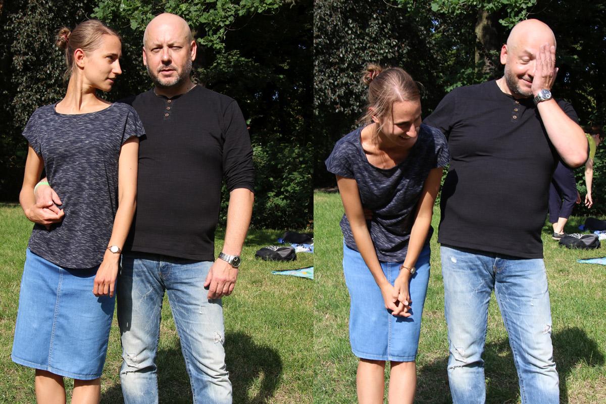 Monika Panfil i Grzegorz Walczak